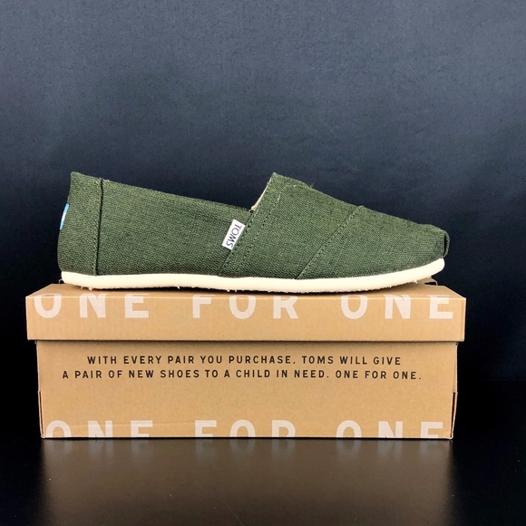 e75c9adce Toms Shoes   Pine Heritage Canvas Alpargata Mens   Poshmark